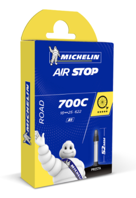 Chambre à air Michelin Route AirStop 700C/18-25 52mm