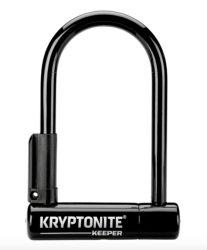Antivol U Kryptonite Mini 6 Keeper avec support