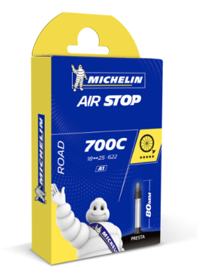 Chambre à air Michelin Route AirStop 700C/18-25 80mm